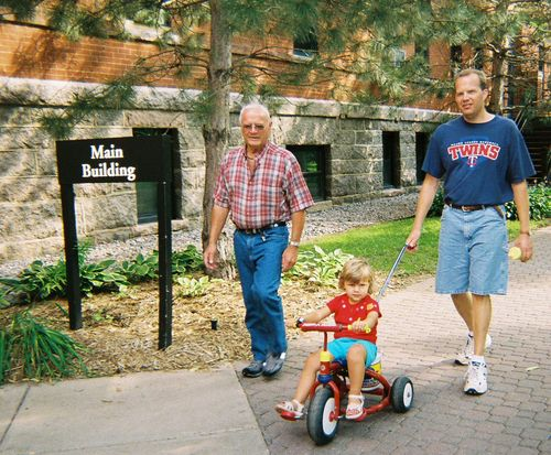 Grandpa, Rachel and Karl
