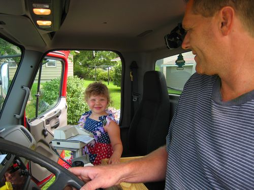 Lydia in Uncle Bruce's Truck copy